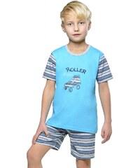 Taro Bavlněné dětské pyžamo Roller skate