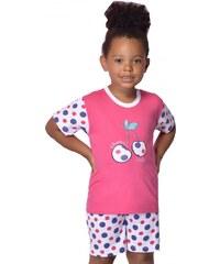 Taro Bavlněné dětské pyžamo Cherry