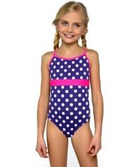 Lorin Dívčí plavky Jolana modro bílé