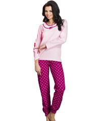 Taro Dámské pyžamo Ismena růžové