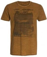 COOL CODE Herren T-Shirt beige aus Baumwolle