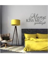 SAMOLEPKA KISS ALLWAYS KISS ME