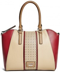 GUESS GUESS Arvin Satchel - beige multi