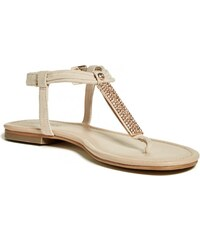 GUESS GUESS Drea Flat Sandals - beeswax