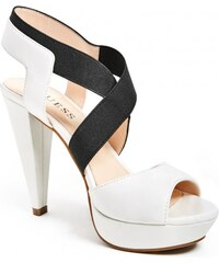 GUESS GUESS Nikkie Heels - white multi leather
