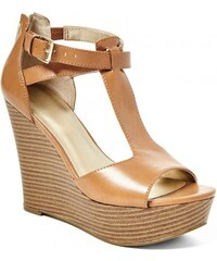 GUESS GUESS Sammey Stacked Wedges - natural