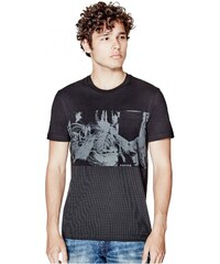 GUESS GUESS Linker Graphic Tee - jet black