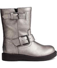 H&M Vysoké motorkářské boty