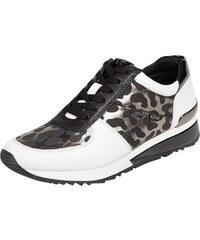 MICHAEL Michael Kors Sneaker aus Leder mit Leopardenmuster