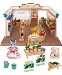 Sylvanian Families Dárkový set - Supermarket s příslušenstvím a figurkou