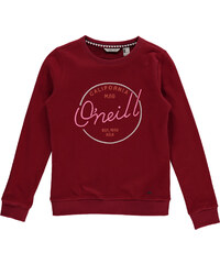 O'Neill LG EASY CREW SWEATSHIRT vínová 116