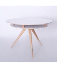 Jídelní stůl Triad, bílý