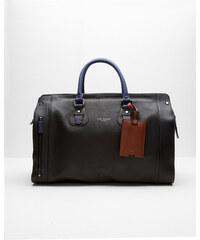 Ted Baker Reisetasche aus Leder Schwarz