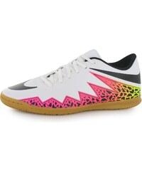 Nike Hypervenom Phade pánské Indoor Court Trainers White/Black/Org