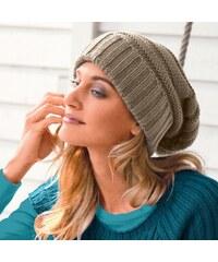 Blancheporte Pletená čepice béžová