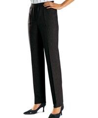 Blancheporte Flanelové kalhoty černá 38