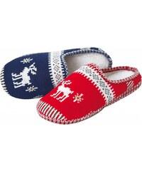 Blancheporte Domácí pantofle modrá 36