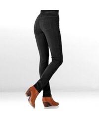 Blancheporte Pružné legínové džíny černá 36