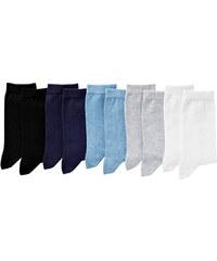 Blancheporte Jednobarevné ponožky, sada 10 párů sada 2 35/38