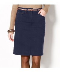 Blancheporte Strečová rovná sukně námořnická modrá 36