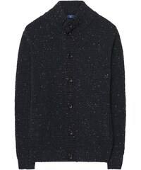 GANT Blouson-pull En Tweed Donegal - Antracit Melange