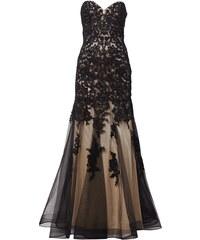 Luxuar Abendkleid mit floraler Häkelspitze