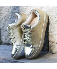 Vices dámské boty Treasure zlaté vel. 37