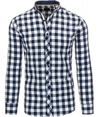 Pánská košile Louf bílá - bílá