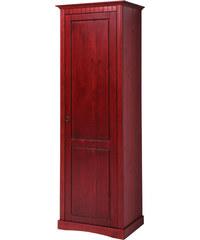 bpc living Armoire penderie Naples, avec une porte rouge maison - bonprix