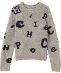 Chipie Pullover - grau meliert