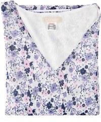 Daxon Bluse - kornblumenblau