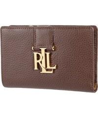 Lauren Ralph Lauren Geldbörse aus Leder mit Logo-Applikation