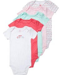 Carter´s 5 PACK Body mint/pink