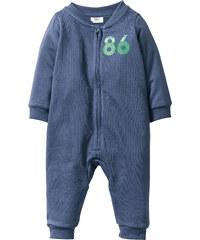 bpc bonprix collection Baby Sweat Overall Bio-Baumwolle in blau von bonprix