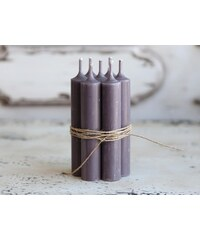 Chic Antique Svíčka Dusty purple - 5 ks
