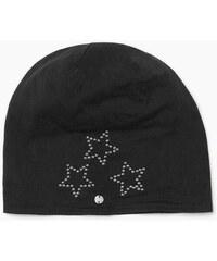 Esprit Bavlněná čepice s hvězdami z nýtků