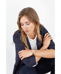 Esprit Montre or rouge à rivets, bracelet en métal