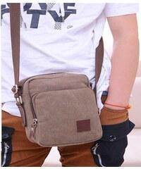 Lifestyle Pánská taška crossbody hnědá