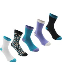 Ponožky Rock and Rags 5 Pack Jacquard dám. multi