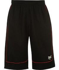 Basketbalové kraťasy Everlast pán. černá/červená