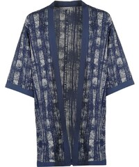 Top JDY Beat It Kimono dám.