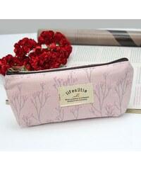 Penál nebo kosmetická taštička Lifestyle - růžové