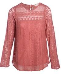 Blouse en dentelle Rose Coton - Femme Taille 1 - Cache Cache