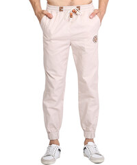 Re-Verse Joggerpants im Chino-Style - Beige - S