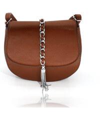 Dámská kabelka Belyani crossbody kovové třásně