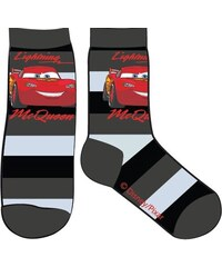 E plus M Chlapecké pruhované ponožky Cars - hnědé