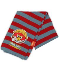 E plus M Chlapecká šála Angry Birds - červeno-šedá