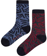 Pepe Jeans London Ross - Lot de 2 paires de chaussettes - multicolore