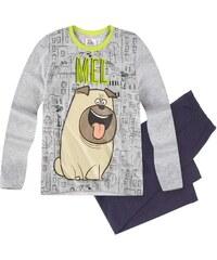 Pets (Secret Life of Pets) Pyjama blau in Größe 104 für Jungen aus 100% Baumwolle Graumelange: 95% Baumwolle 5% Viskose