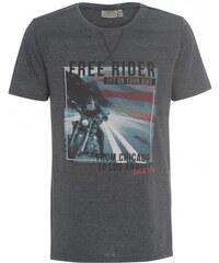 SUBLEVEL Herren T-Shirt grau aus Baumwolle